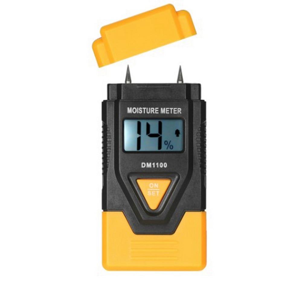 Измеритель влажности дерева цифровой гигрометр для бетона с
