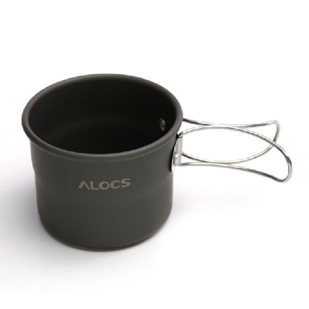 Outdoor Aluminum Alloy Foldable Cup Portable Camping Cup Camping Coffee Tea Mug Aluminum for Picnic