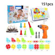 Головоломка buzzdrill развивающая игрушка в сборе блоки для