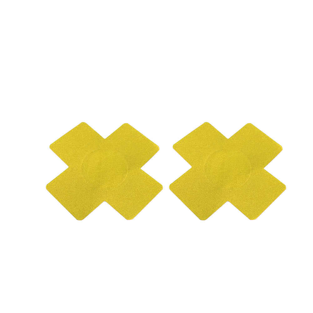 Sexy Self-Adhesive Breast Nipple Cover Bra Pasties Pad Cross Shape Stickers Great for wearing under t-shirts sex toys for woman