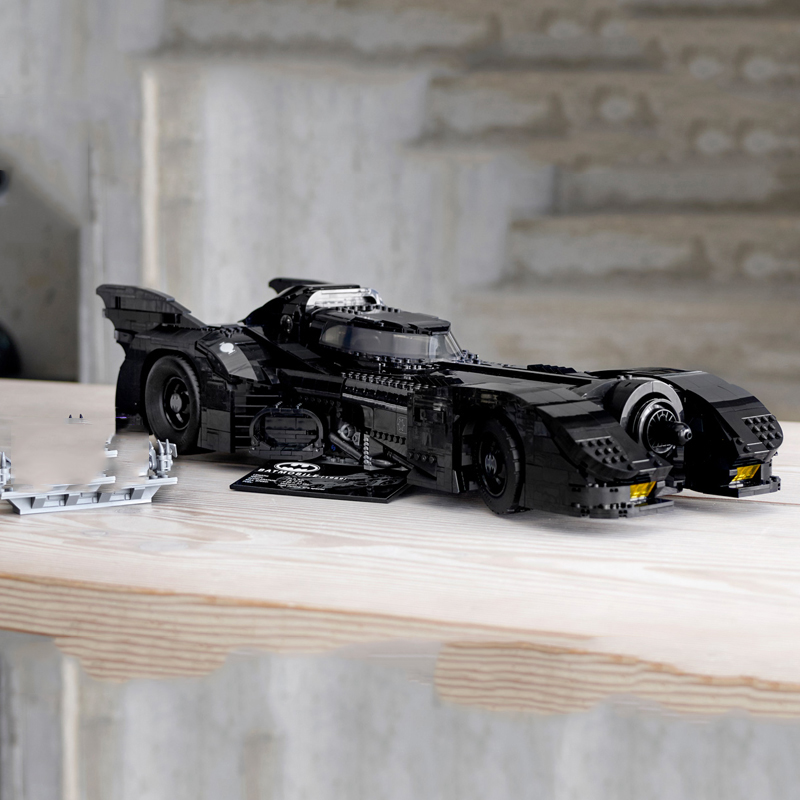 Batman Lepining Super Heroes 1989 Batmobile 76139 Model Lepinblocks 3856Pcs Building Kits Blocks Bricks Toys Children Gift