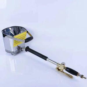 Image 1 - 高速配信モルタル噴霧器壁モルタル銃、スタッコシャベル、ホッパー取鍋、セメントスプレーガン、空気スタッコ噴霧器、石膏ホッパー銃