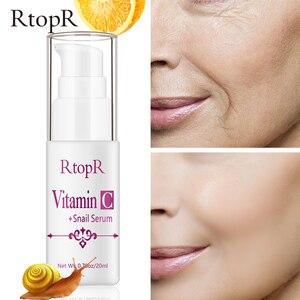 Image 3 - Sérum à lacide hyaluronique vitamine c Anti vieillissement, rétrécit les pores, hydrate, contrôle du visage, huile, produit de soins pour la peau