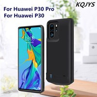 KQJYS 5000mAh Battery Case Box External Charger for Huawei P30 Pro Power Box Mobile Power Case Charging Set for Huawei P30