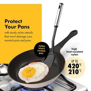 Image 2 - Đồ Gia Dụng Bộ 40 Dụng Cụ Nấu Ăn Nylon Và Dụng Cụ Đánh Trứng Inox Bộ Chống Dính Thìa Đũa Bộ Nấu Ăn Bộ Dụng Cụ quà Tặng