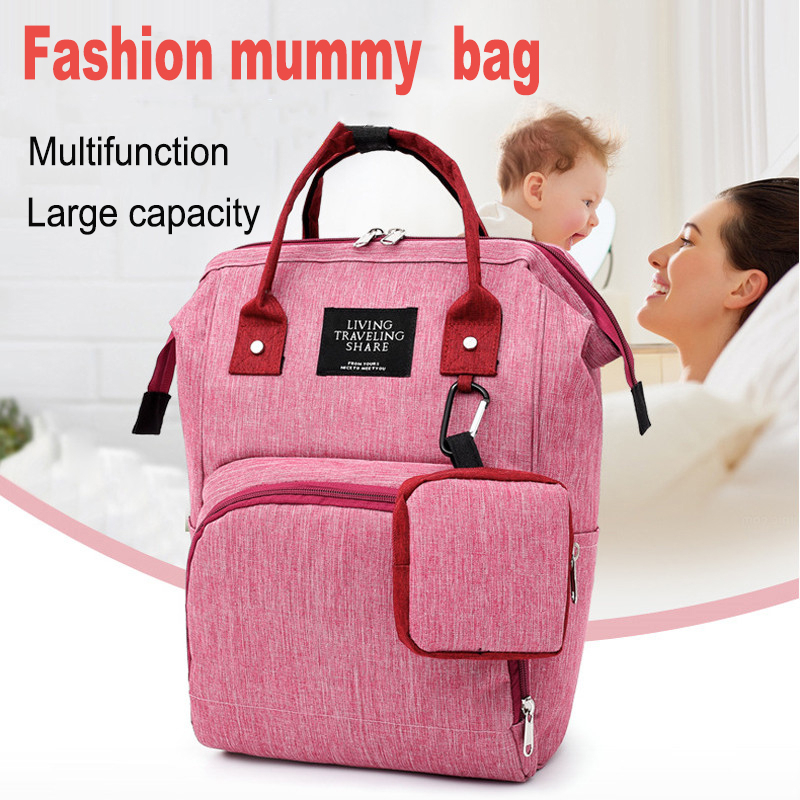 Baby Daiper Bag Mummy Maternity Nappy Bag Waterproof Baby Travel  Stroller Diaper Bags For Mommy Backpack For Moms Changing Bag