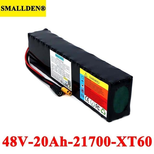 48V 20Ah 21700 13S البطارية حزمة 500W 800W 1000W عالية الطاقة بطاريات 54.2V 20000mAh Ebike دراجة كهربائية BMS