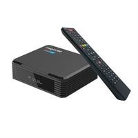 Magicsee – boîtier Smart Tv C500 Pro Amlogic S905X3, Android 9.0, 4 go/32 go, récepteur numérique par Satellite, décodeur, nouveauté