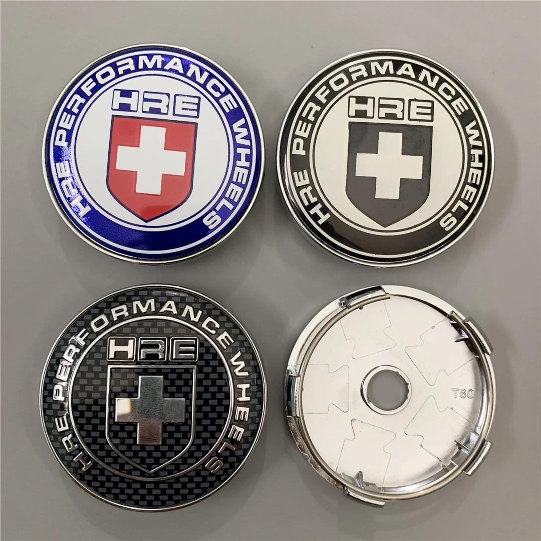 60mm HRE Car Auto Wheel Center Hub Cap Badge Emblem Decal Sticker