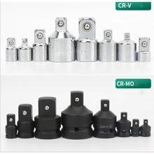 Adaptateur de prise à chocs CR-MO, clé à cliquet CR-V, convertisseur de prise 1/2 à 3/8, 3/8 à 1/4, 3/4 à 1/2, outils de réparation automobile
