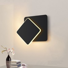 360 Degrees Rotatable Nordic Wall lamp 5W 16W led wall light Bedroom Living Room Sconce Wall Lights Lustre wall Sconces