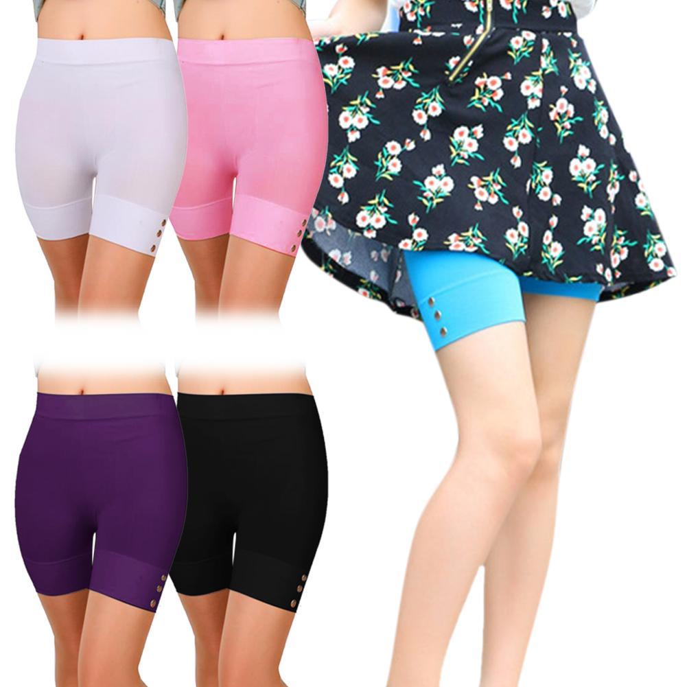 Sexy Safety Short Pants Women Elastic Waist Safety Shorts Quick-drying Women Safety Shorts Women's Safety Pants Shorts Panties