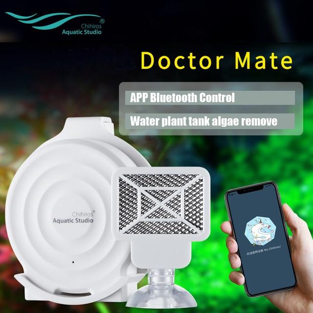 2019 חדש Chihiros twinstar Chihiros רופא Mate Bluetooth אצות להסיר אלקטרוני לעכב ירוק אקווריום דגי מים צמח טנק