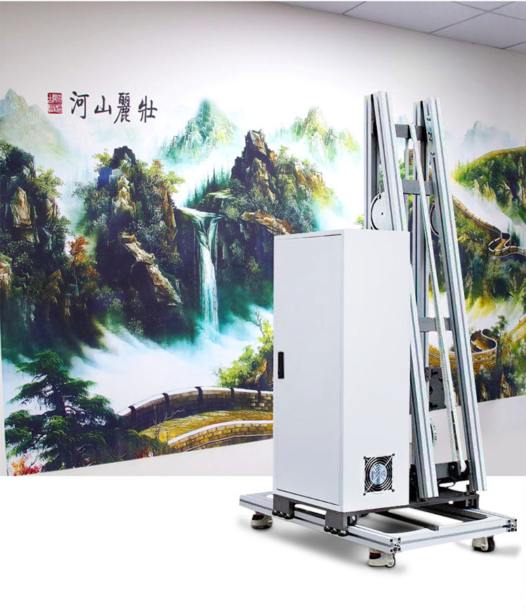 3D Wall Printer Machine For Special Home Wall Decoration Walls Printer High Resolution Vertical Wall Mural Printer