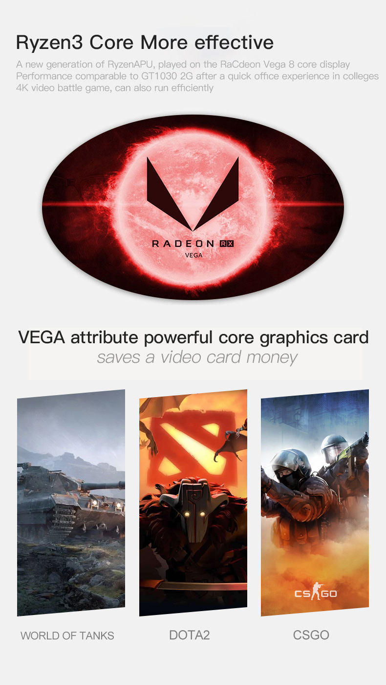 Ipason barato gaming pc quad core amd