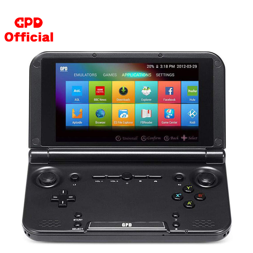 Handhend jogador de jogos retro console gpd xd mais android tela sensível ao toque 5 Polegada 4gb hdmi tv emulador clássico 500 jogos tablet