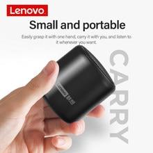 Lenovo L01 Portable Bluetooth Wireless Speaker Mini Outdoor Loudspeaker Wireless Column 3D Stereo Music Surround Bass Box colour