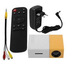 LED Mini Projector High Resolution Ultra Portable HD 1080P HDMI USB Pro