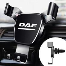 Metal Car Navigation Mobile Phone Holder Bracket Support For DAF XFF CF LF XF Car Interior accessories