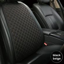 Capa traseira para assento de carro, capa protetora para assento de carro, almofada para quatro estações