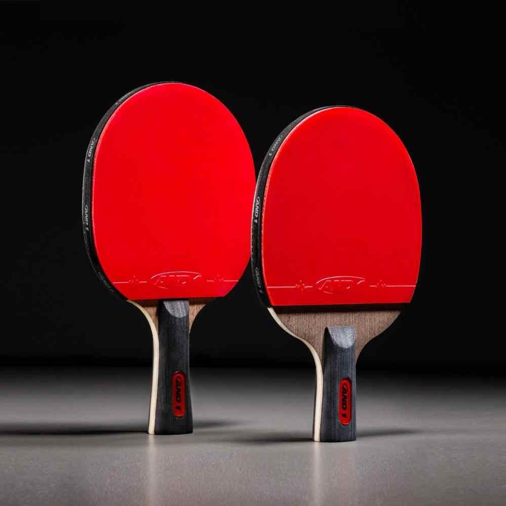 XIAOMI profesional raqueta de tenis de mesa ligero Ping Pong Paddle Bat alta esponja elástica suelo de madera pura mango cómodo