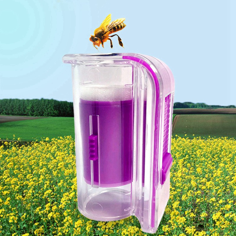New Creative Peak Catching Bottle Bee Queen Marked Bottle Bee Catching King Clip Beekeeping Tool