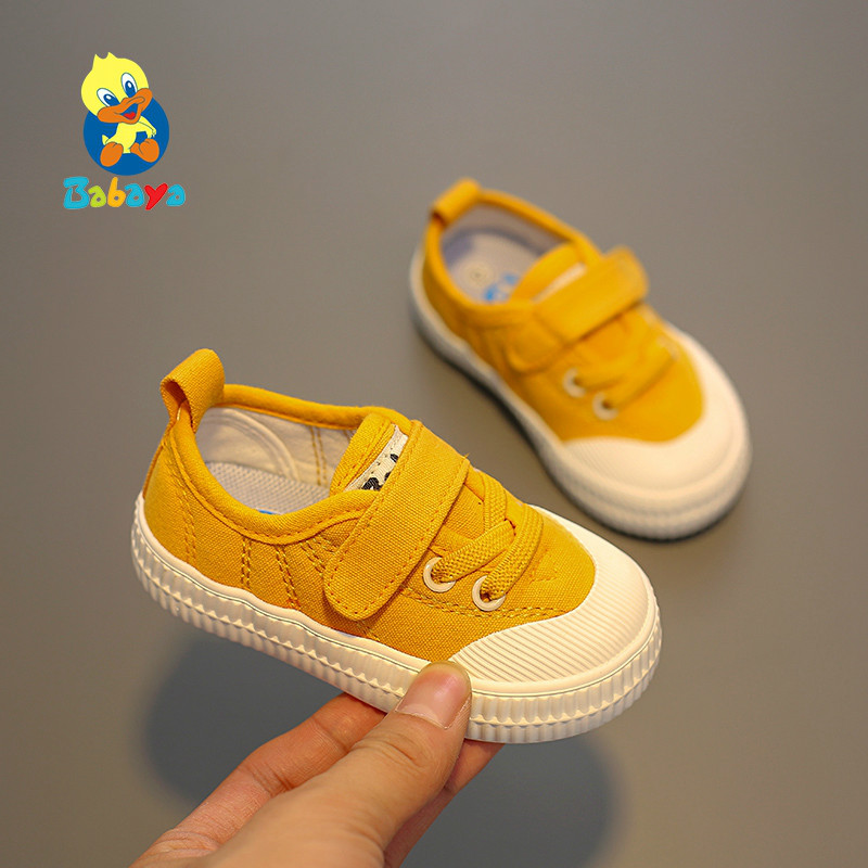 Toddler Shoes Baby-Girl Canvas Soft-Bottom Autumn Boys Breathable Fashion New Children
