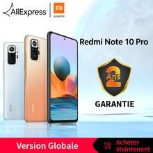 [Première Mondiale En stock] Version mondiale Xiaomi Redmi Note 10 Pro Smartphone 108MP Caméra Snapdragon 732G 120Hz AMOLED Affichage Note 10Pro