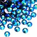 OLeeya SS3-SS30 Синий Циркон AB Bling разы не горячая фиксация Rhinstone блестящие бриллианты F0004
