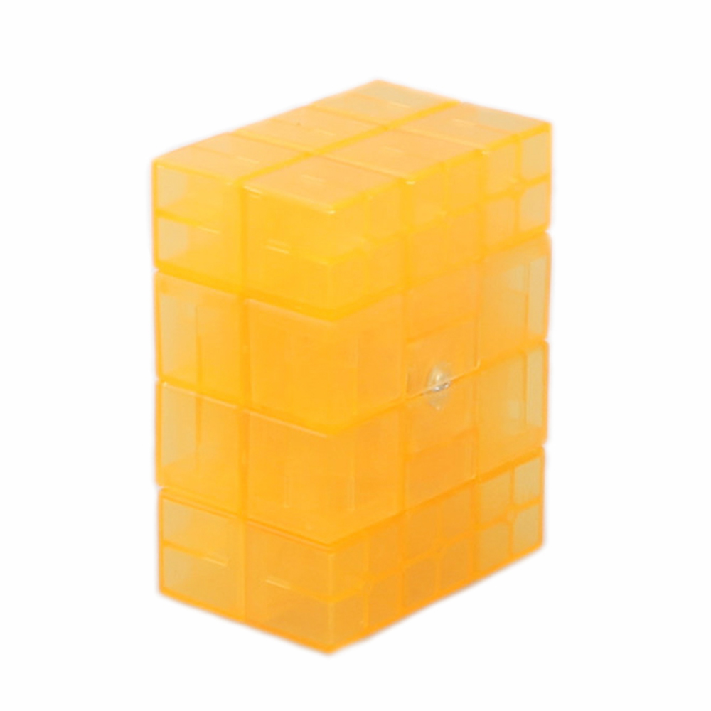 MF8 2x3x4 Speed Magic Cube Transparent Orange Limited Edition Puzzle Cubes Children Kids Educational Toys Christmas Gift