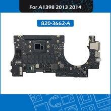 2013 2014 Laptop A1398 Logic Board I7 2.0 2.2 2.3 2.8Ghz 16Gb 820-3662-A Voor Macbook Pro Retina 15
