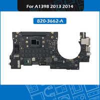 2013 2014 año Laptop A1398 placa lógica i7 2,0 GHz 2,2 GHZ 16GB 820-3662-A para Macbook Pro Retina 15