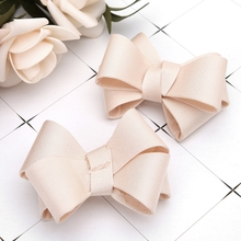 2Pcs DIY Bowknot Patches Shoe Clothes Applique Decoration Accessories Embroidery eykosi new fashion 2pcs shoe decoration clothes diy leaves flower ornaments charms removable floral hot 2018
