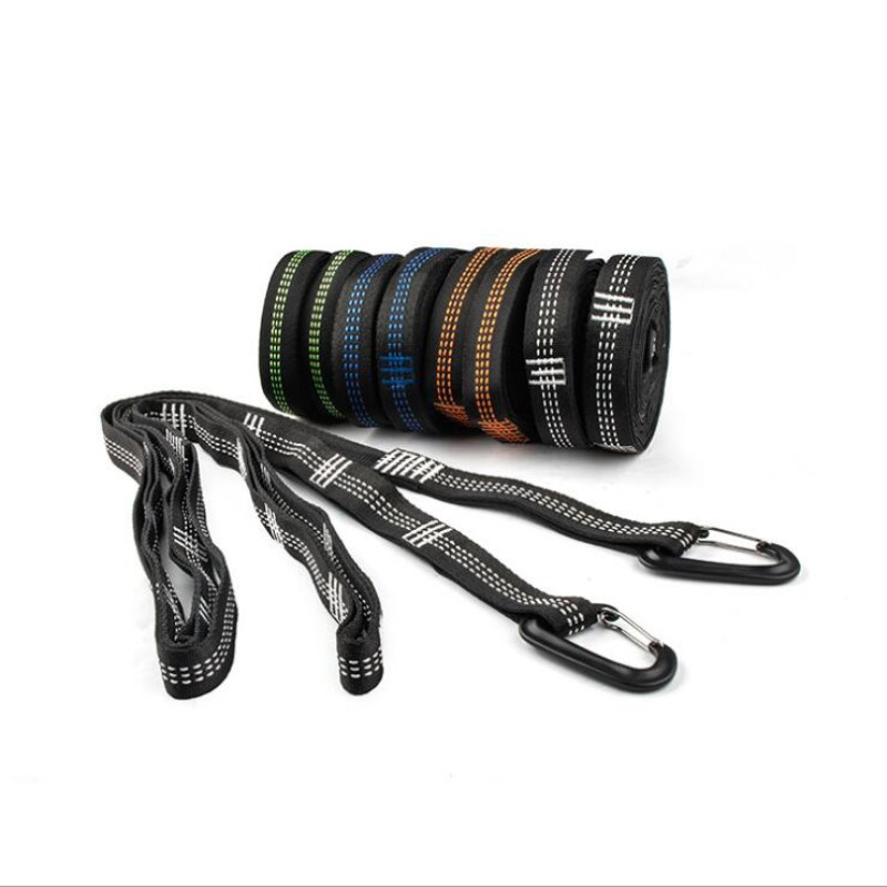Hammock Strap Outdoor Camping Rope 280cm*2.5cm High Strength Wire Load-bearing Strap Hammock Rope