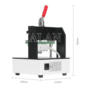 Image 5 - OM H3 uniwersalny rama Lcd usuń maszyna do do ekranu Lcd telefonu temperatura podgrzewania ramki sterowania oddzielne