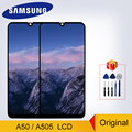 Original For Samsung Galaxy A50 2019 A505F/DS A505F A505FD A505A LCD Touch Screen Digitizer Display For Samsung A50 Display