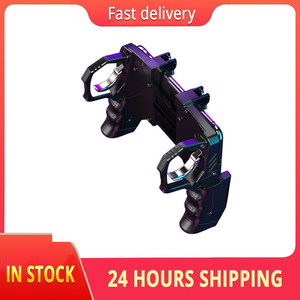 Image 1 - 2020 For Pubg Controller For Mobile Phone Game Shooter Trigger Fire Button For IPhone Android Phone Gamepad Joystick PUGB Helper
