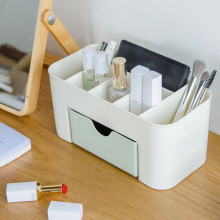 LHX Cosmetics Storage Box Desktop Originality Plastic Drawer for Housewear Furnishings HP1249 f1