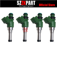 4pcs/lot Fuel Injector 3B4 13761 00 00 Fit For YAMAHA Grizzly YZ450F WR450F YZ 450 F 10 17