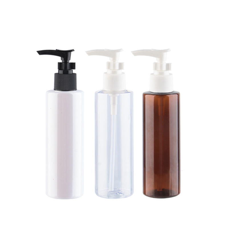 200ml X 30 Empty Transparent Bayonet Pump Lotion Cream Plastic Container PET Cream Cosmetic Bottle Shampoo Dispenser Bottles