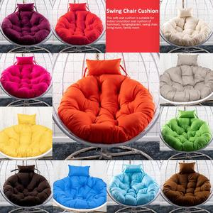 110*10cm Pearl Cotton Thickening Hanging Chair Cushion Skin-friendly Soft Swing Chair Cushion For Indoor Outdoor Balcony