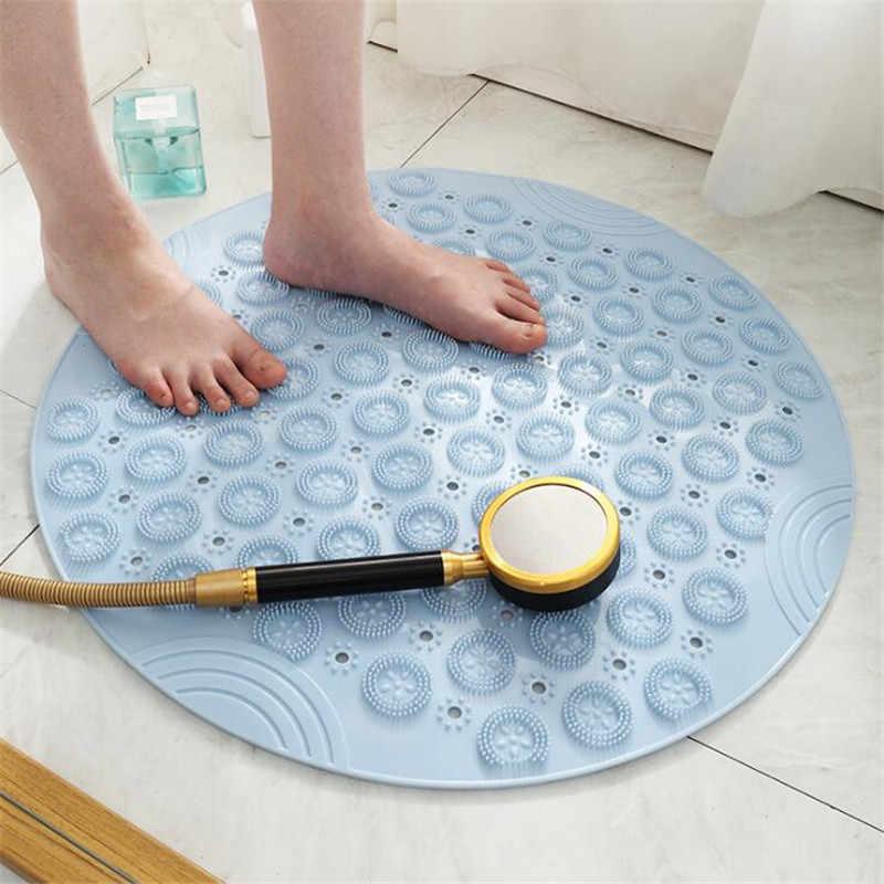 Nicht-slip Bad Matten Bad Kreis PVC Badematten Home Küche Boden Matten Für Wc Badezimmer Teppich Dusche Matte Bad teppich