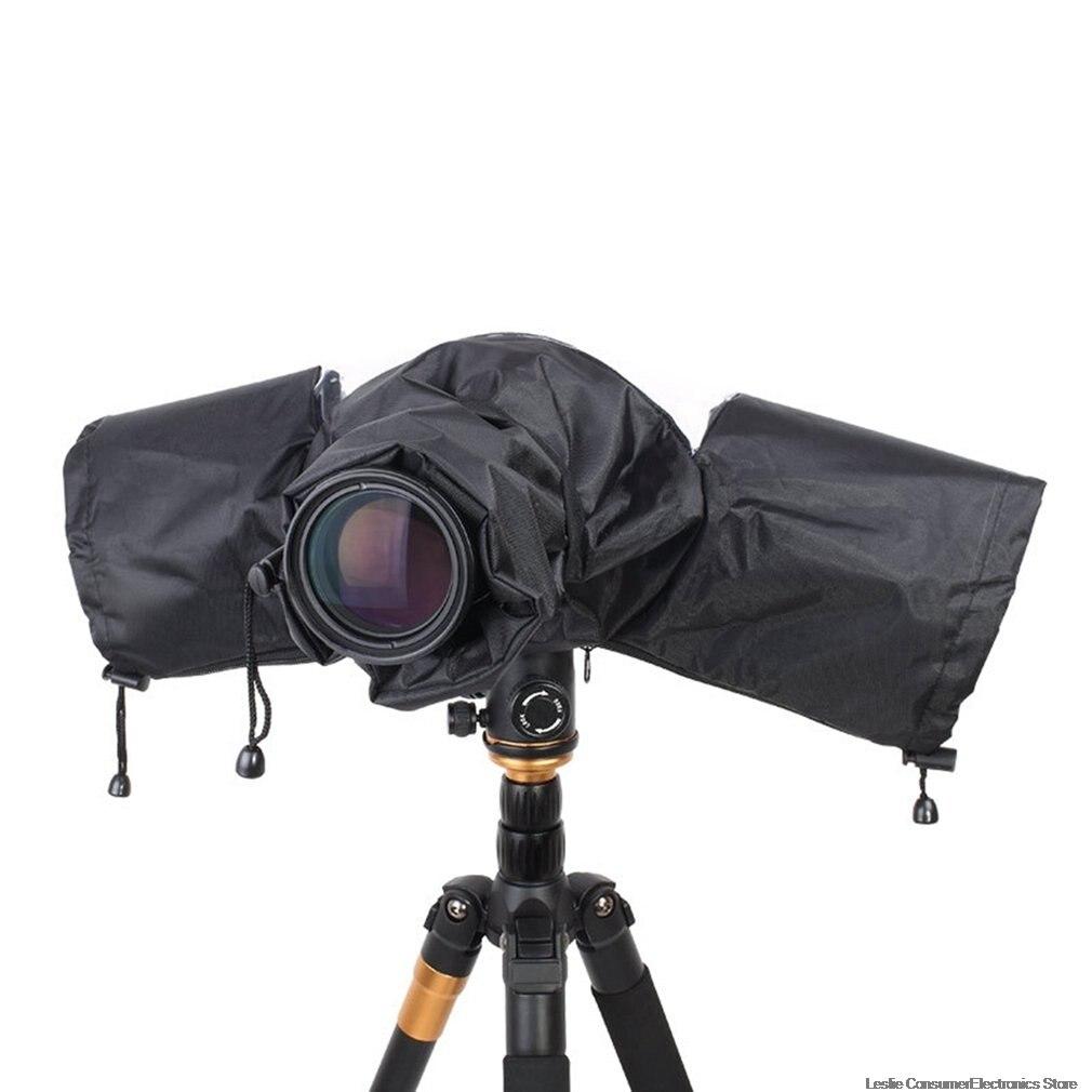 Camera Bags Camera Rain Cover Coat Bag Protector Rainproof Against Dust Raincoat for Canon Nikon Pendax DSLR SLR Camer