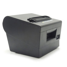 цена Thermal POS  Printer 80m Black Receipt Printer USB Serial Port High Printing speed Windows Printer For restaurant  supermarket онлайн в 2017 году