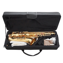 цена на LADE Brass Engraved Eb E-Flat Alto Saxophone Sax Abalone Shell Buttons with Case Gloves Cleaning Cloth Grease Belt Brush