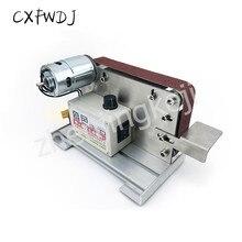 цены на Small Mini Belt Machine DIY Polishing Machine fixed Angle Grinding knife Open V Blade Machine Desktop Polishing Machine 220V380V  в интернет-магазинах