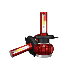 2 предмета в комплекте H7 светодиодный 12000LM мини автомобильный лампы для передних фар H1 светодиодный H7 H8 H9 H11 комплект фар 9005 HB3 9006 HB4 авто светодиодный лампы для стайлинга автомобилей