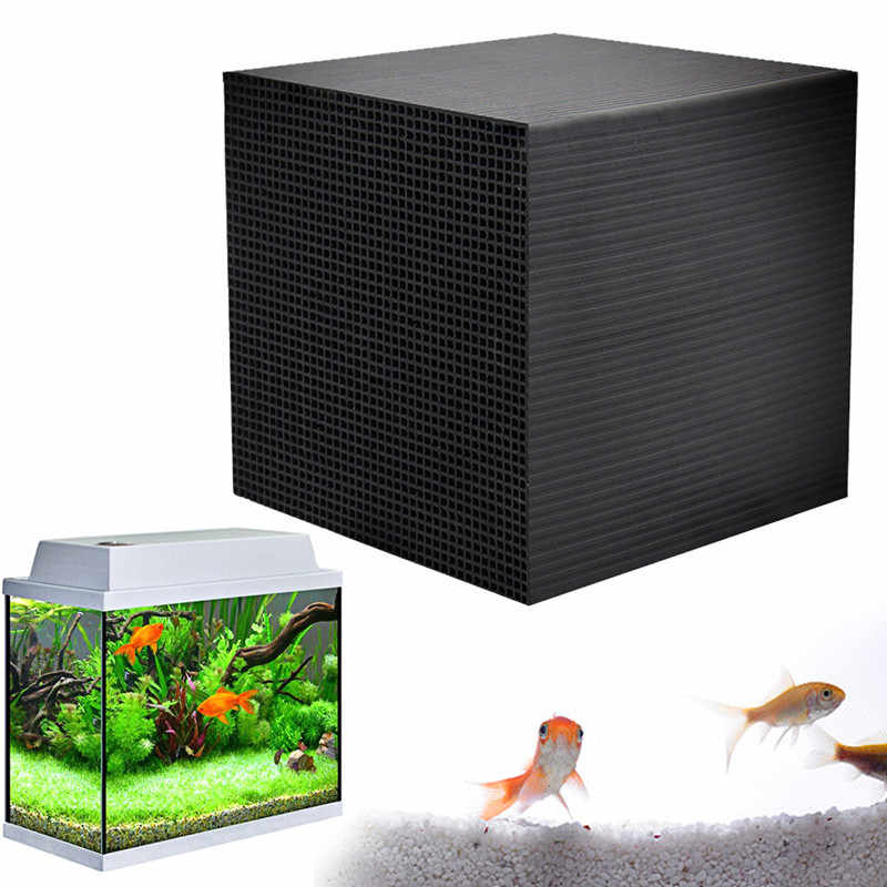 Eco Aquarium Water Purifier Cubes Fish Tank Activated Carbon Water Cleaner Filter Air Purifier Air Conditioner Tank Cleaner Dirt Filters Accessories Aliexpress