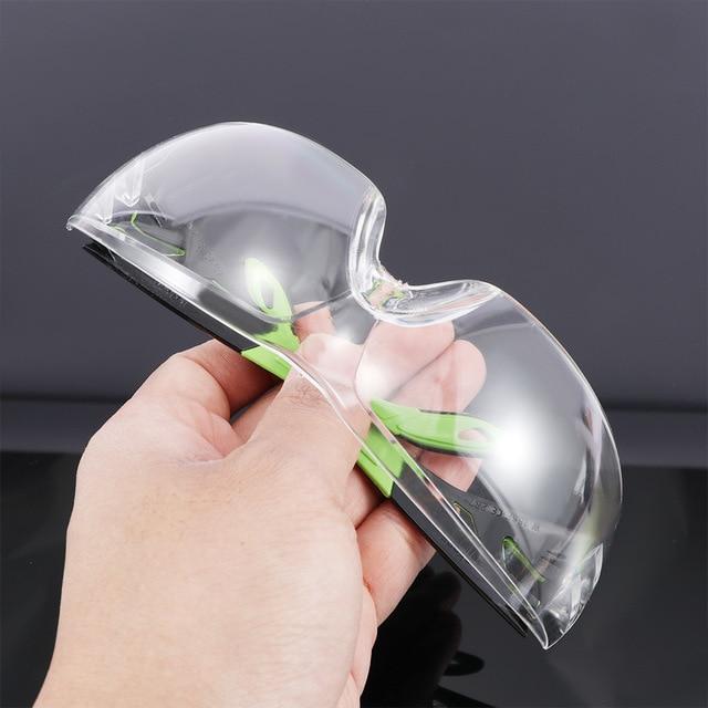 Óculos de proteção do vento e à prova de poeira glassesanti-segurança claro anti-impacto fábrica laboratório ao ar livre óculos de trabalho 3