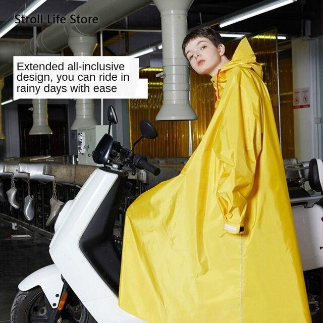 Long Rain Coat Women Full Body Windproof Yellow Rain Coat Electric Motorcycle Riding Rain Poncho Men Gabardina Mujer Gift Ideas